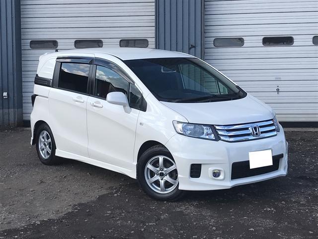 ホンダ 4WD 電動スライドドア ナビ バックカメラ AW ミニバン