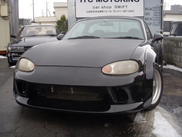 マツダ RS  ワイドボディー・車高調・社外マフラー・エアロ