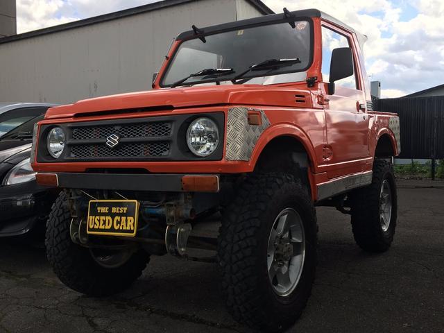 スズキ リフトUP 5MT ターボ 4WD 社外アルミ