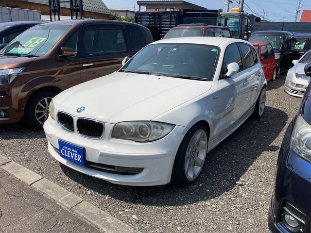 BMW 1シリーズ  ETC バックカメラ ナビ アルミホイール CD スマートキー CVT エアコン パワーステアリング パワーウィンドウ