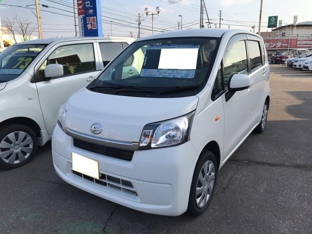 ダイハツ L 軽自動車 4WD ホワイト 車検整備付 CVT 保証付