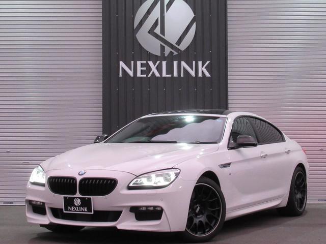 BMW 640iグランクーペ 車検整備・夏冬T付・サンルーフ・19AW
