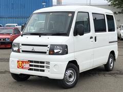 ミニキャブバン福祉車 車いす仕様車 テールゲートリフト式 4WD