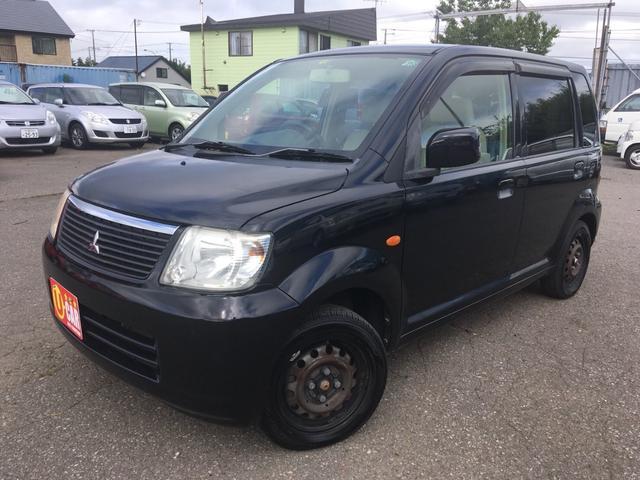 三菱 M 福祉車両 4WD 社外CDデッキ フル装備 シートヒータ