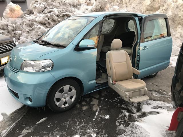トヨタ 福祉車両 助手席シートリフター リモコン付き