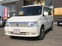 ステップワゴンD 3列シート 8人乗り CD キーレス エンスタ 4WD