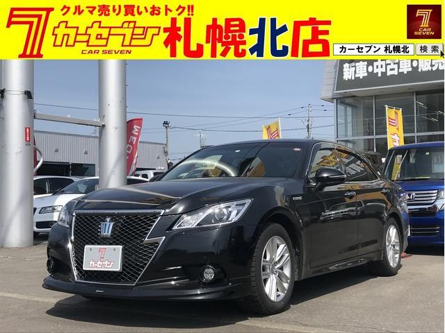 トヨタ アスリートS Four モデリスタエアロ 純正ナビ 4WD