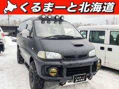 デリカスペースギアシャモニー 4WD 1年保証 ディーゼル エンスタ ナビ