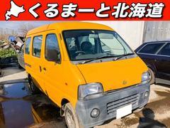 エブリイPAハイルーフ 4WD 禁煙 寒冷地仕様 1年保証 パワステ
