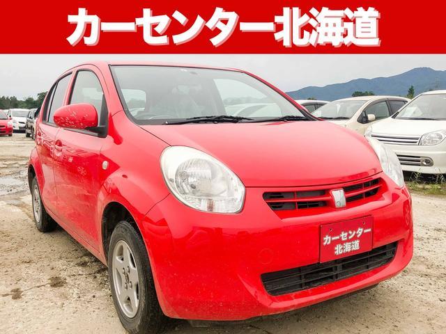 トヨタ パッソ X ユルリ 1年保証 4WD スマキー 禁煙車 寒冷地仕様