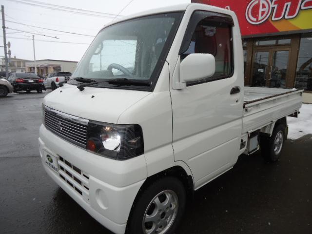三菱 VX-SE エアコン パワステ 夏タイヤ付 4WD