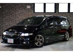 オデッセイアブソルート 4WDx外18AWx車高調xフリップダウンM