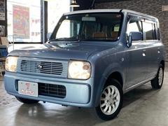 アルトラパンX2 4WD 運転席シートヒーター ミラーヒーター キーレスキー 電格ミラー CD/MDデッキ 13AW タイミングチェーン ドアバイザー