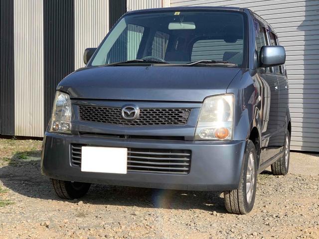 マツダ AZワゴン FA 黒ナンバー可 事業登録可 4WD キーレス シートヒーター ABS ベンチシート フルフラット エアコン パワーウィンドウ パワーステアリング エアバック 軽自動車