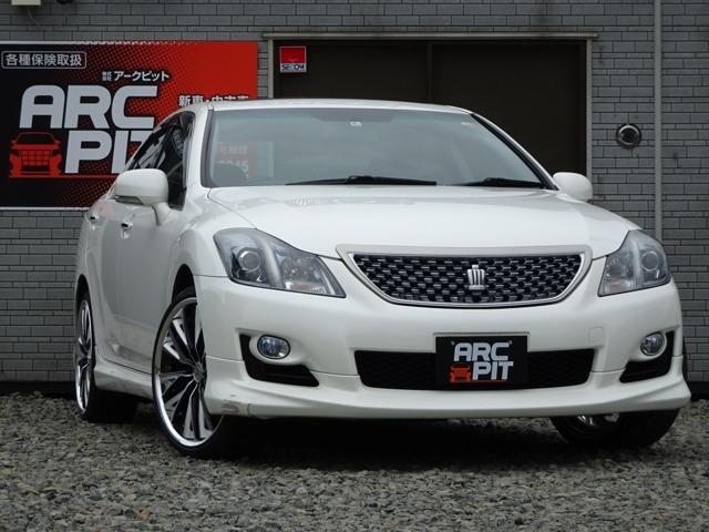トヨタ 2.5アスリートi-Four ナビパッケージ・4WD・ETC