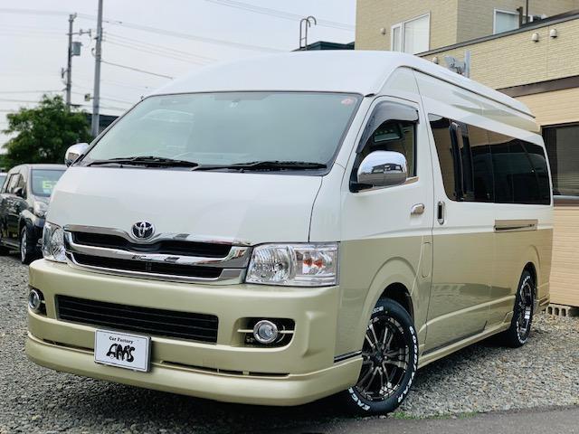 トヨタ SロングDX4WD新品17AW/ヒッチ/ナビフルセグカスタム
