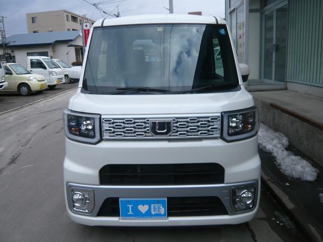 ダイハツ X 4WD 寒冷地仕様 LED ターボ シートヒーター