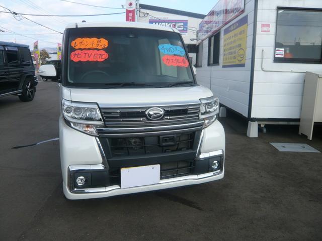 ダイハツ カスタムRS トップエディションSAII 4WD ナビ TV