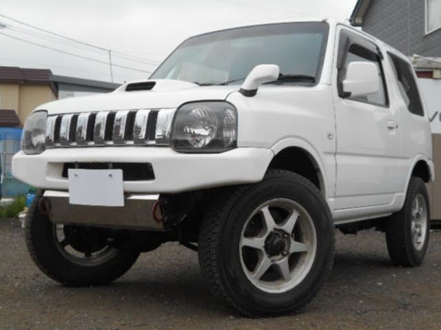 スズキ XG 4WD リフトup 外バンパー HID 革調シート