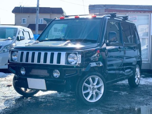 ネイキッド G Bパッケージ 4WD 自社ローン MY NEOオートローン完備 ハマー仕様 CDMD エンスタ 4WD