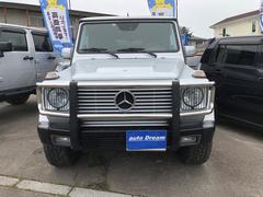 M・ベンツG320ロング黒革サンルーフ外ナビTV社外20インチアルミ
