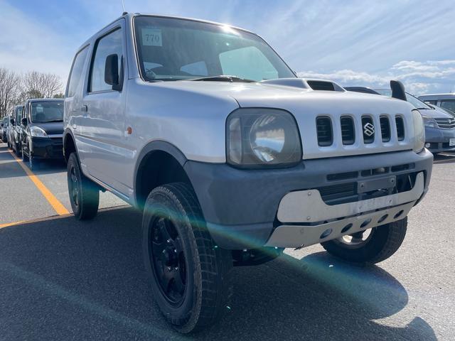 スズキ ジムニー XA リフトアップ4WD