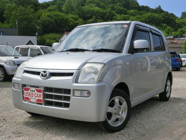 マツダ キャロル GII 4WD キーレス 電動格納ミラー レベライザー