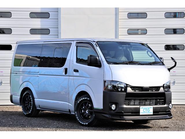 トヨタ ハイエースバン DX フルオプション 2.8ディーゼルターボ 4WD 新車コンプリート パノラミックビューモニター/デジタルインナーミラー/ヒーター付ドアミラー/AC100V/リヤヒーター/リヤクーラー