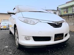エスティマハイブリッドX 4WD 両側パワスラ  ナビ Bカメラ 新品夏冬タイヤ