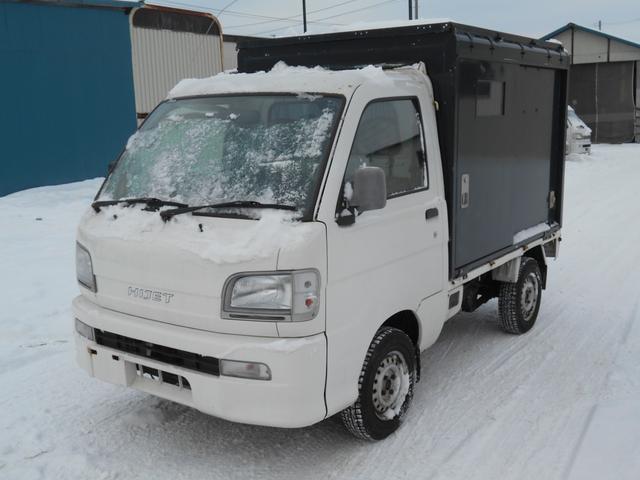 ダイハツ スペシャル4WD/キャンピング仕様/AC.DC/外部入力