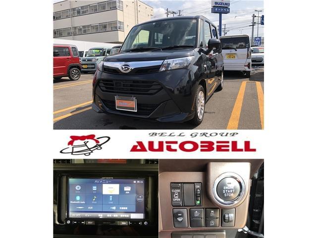 ダイハツ トール X SAII 4WD ナビ バックカメラ パワースライドドア