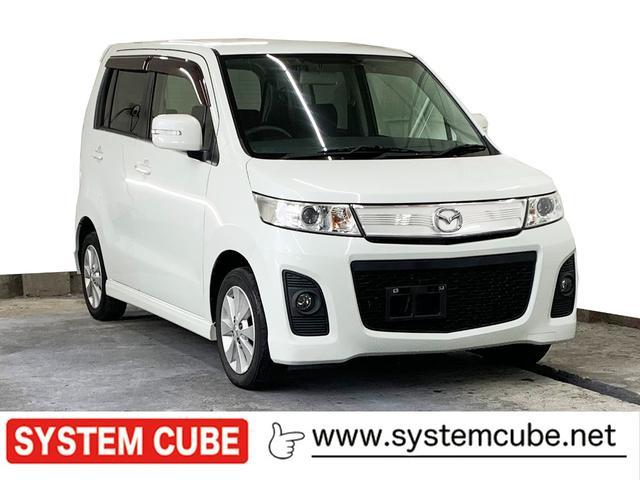 マツダ AZワゴンカスタムスタイル XT ターボ ナビ 4WD