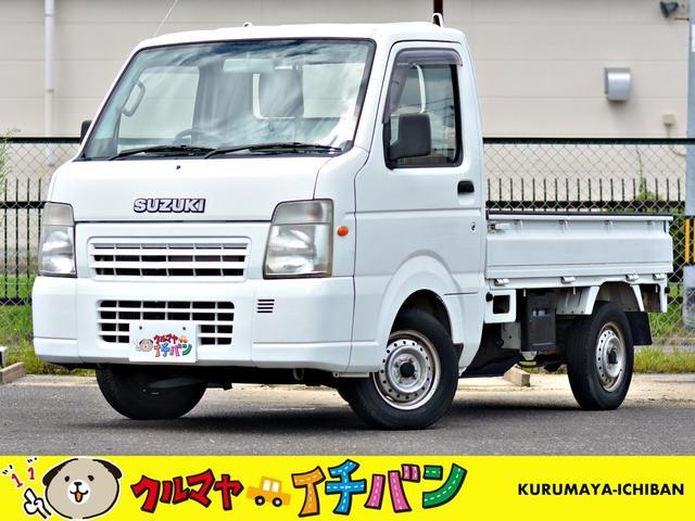スズキ FC 4WD 夏冬タイヤ付 サビ無 エアコン パワステ 5速マニュアル 3方開 エアコンパワステ PS
