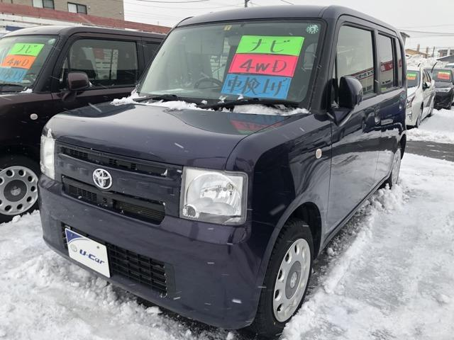 トヨタ X 4WDレンタアップ ナビ付 ETC付