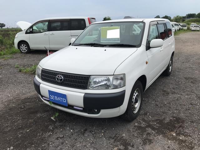 トヨタ 1.5 GL 4WD ナビ オーディオ付 白 5名乗り