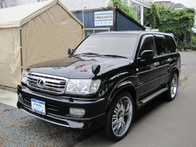 トヨタ VXリミテッド ディーゼル 黒レクサス仕様 1ナンバー検付