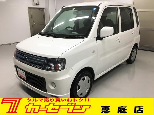 三菱 M 4WD 社外ナビ 純正キーレス シートヒーター 禁煙車