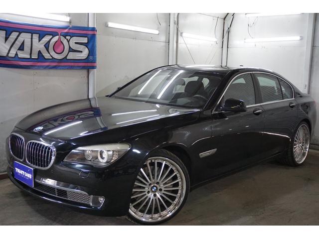 BMW アクティブハイブリッド7 左ハンドル/黒革シート/シートヒーター/サンルーフ/外22AW/HDDナビ/クリアランスソナー/ヘットアップディスプレイ/レーンキーピングアシスト/ナイトビュー