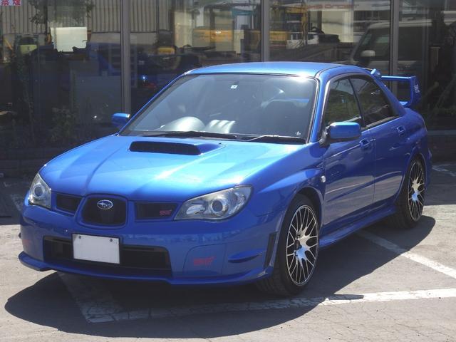 WRX STi 4WD 柿本改マフラー