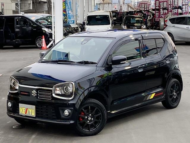 スズキ ベースグレード 4WD・禁煙・5AT・ターボ・レカロシート・パドルシフト・純正15インチアルミ・衝突被害軽減システム・SDナビ・フルセグTV・Bluetooth・バックカメラ・スマートキー・プッシュスタート・ETC