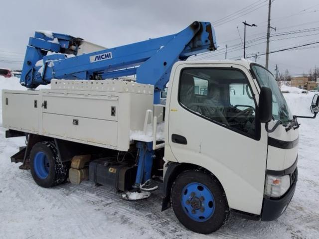 日野  高所作業車 4WD