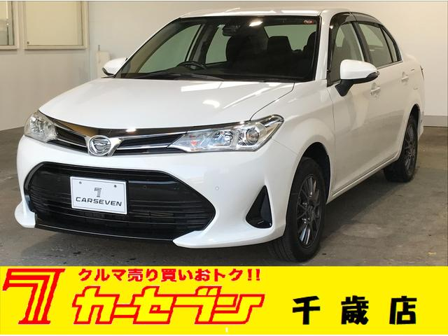 トヨタ カローラアクシオ 1.5G 4WD 純正ナビ 夏冬タイヤ エンジンスターター ETC
