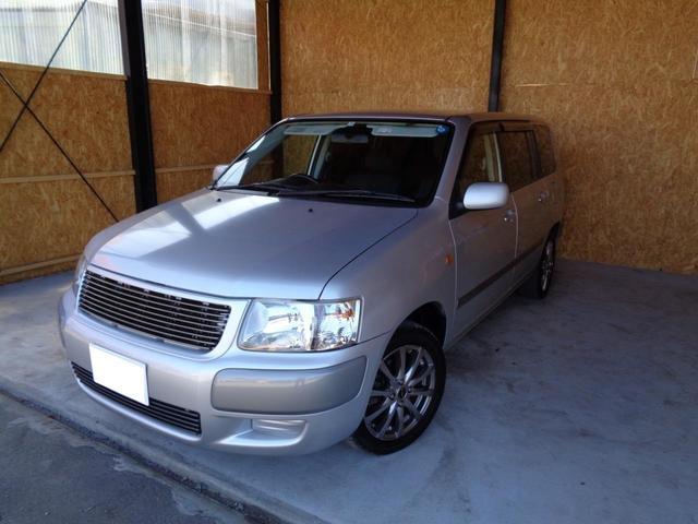 サクシードワゴン TX Gパッケージ 4WD 運転席助手席エアバッグ ABS エンスタ 車検整備付