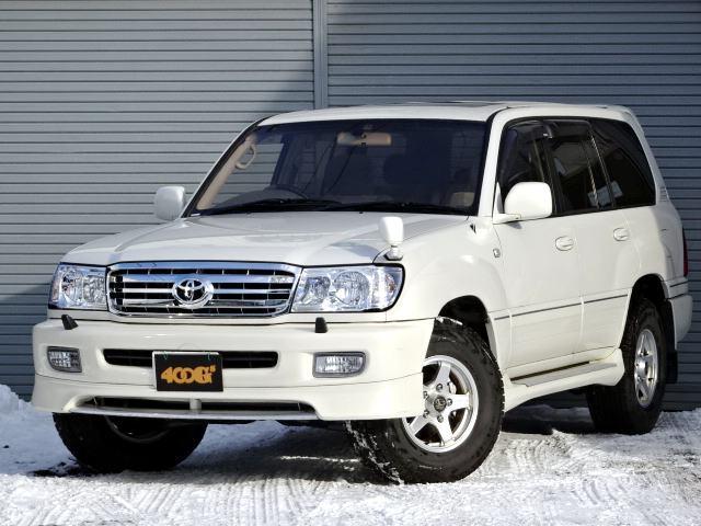 トヨタ ランドクルーザー100 VXリミテッド 4WD ディーゼル 寒冷地仕様 サンルーフ ナビ地デジ Bカメラ