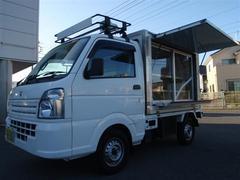 キャリイトラック冷蔵冷凍車 サッシ付