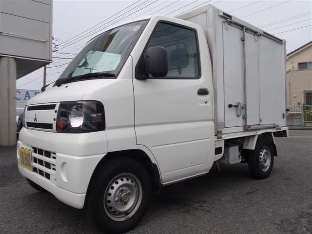 三菱 中温冷蔵冷凍車