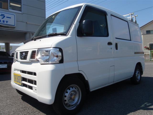 日産 NV100クリッパーバン 冷蔵機能付移動販売車