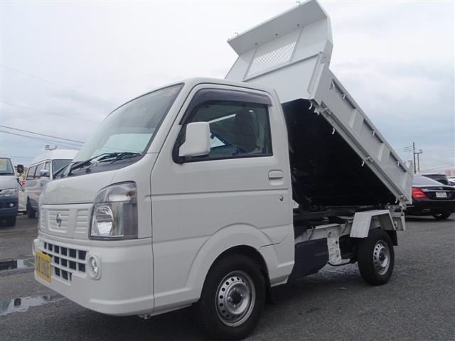 日産 GX 多目的ダンプ 4WD 3AT