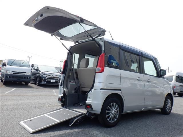 マツダ フレアワゴン XG 車いすスロープ介護タクシー仕様
