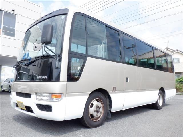 日産 シビリアンバス ロングSX 29人 NOxPM適合  1オーナー オートドア